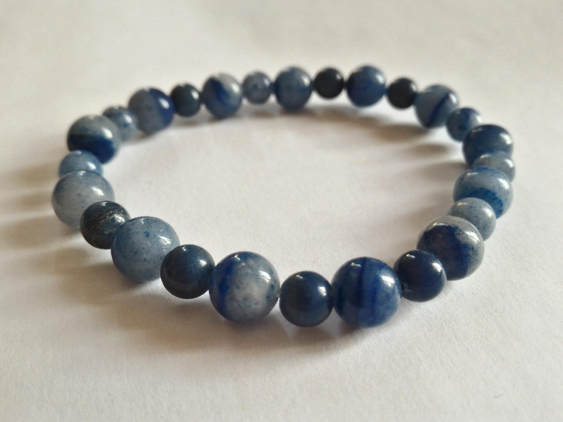 Bracelet aventurine bleue 1 1
