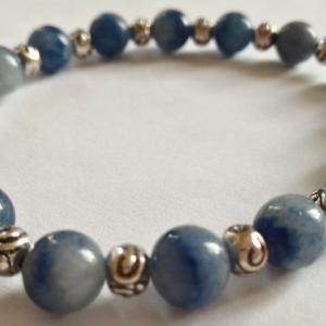 Bracelet aventurine bleue 2