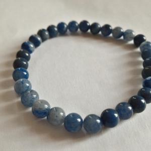 Bracelet aventurine bleue 6