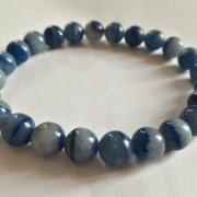 Bracelet aventurine bleue 8 mm