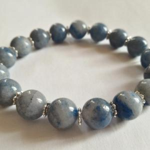 Bracelet aventurine bleue 9