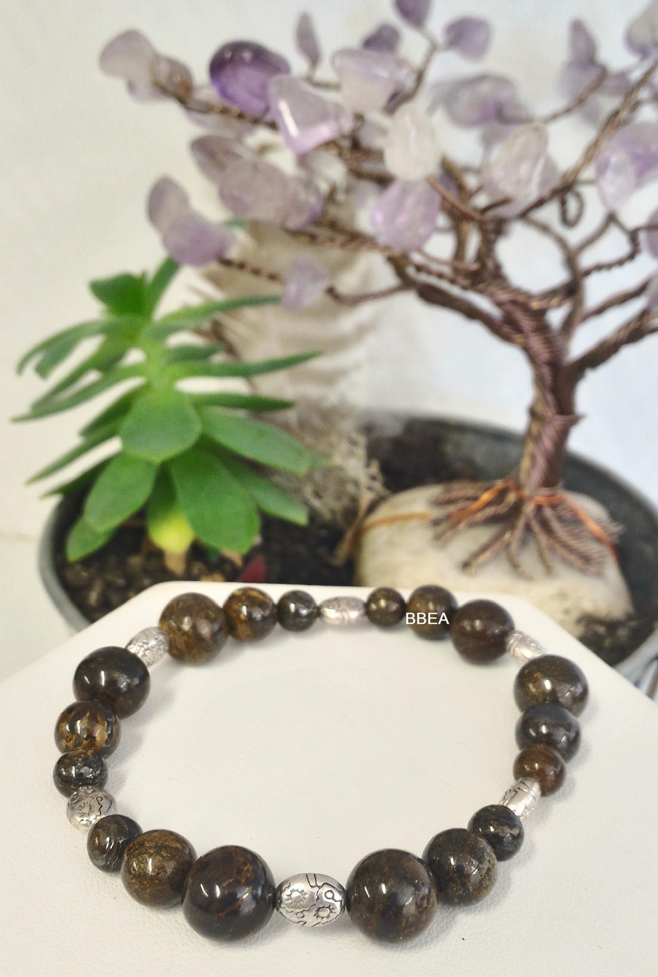 Bracelet bronzite 2