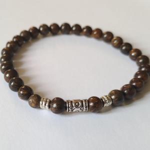 Bracelet bronzite homme 2