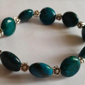 Bracelet chrysocolle 1