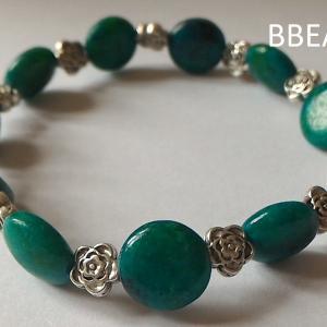 Bracelet chrysocolle 2 2