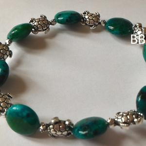 Bracelet chrysocolle 3 2