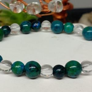 Bracelet chrysocolle 4