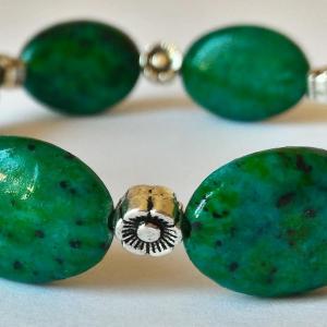 Bracelet chrysocolle 5 1