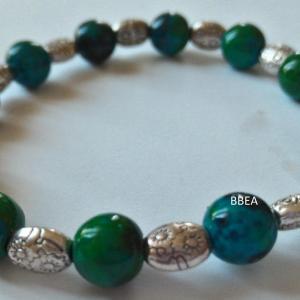 Bracelet chrysocolle 6 1