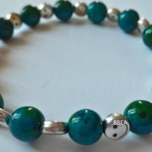 Bracelet chrysocolle 9