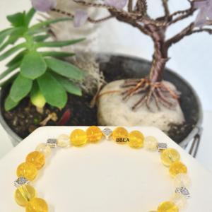 Bracelet citrine 1
