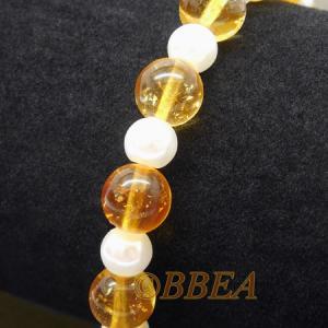 Bracelet citrine 3189