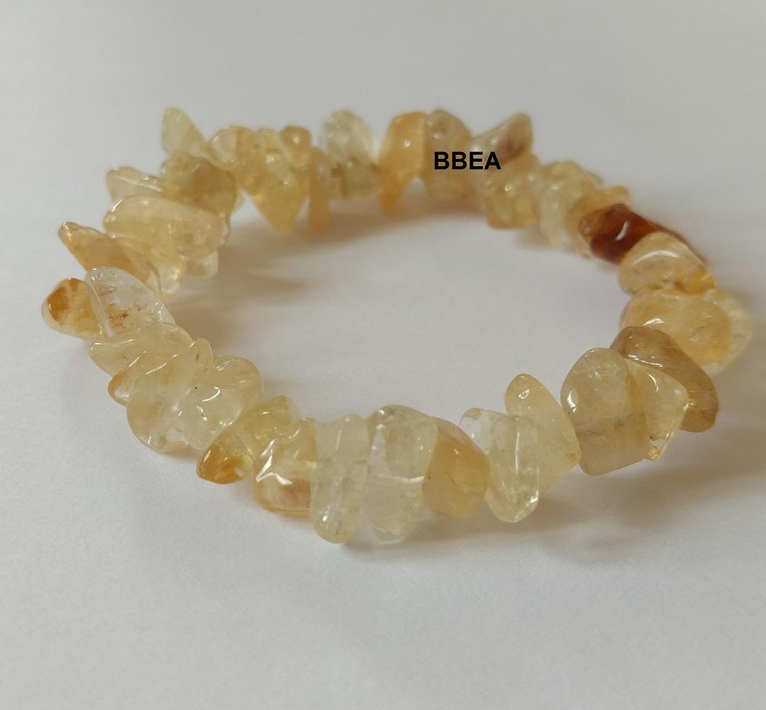 Bracelet citrine 4
