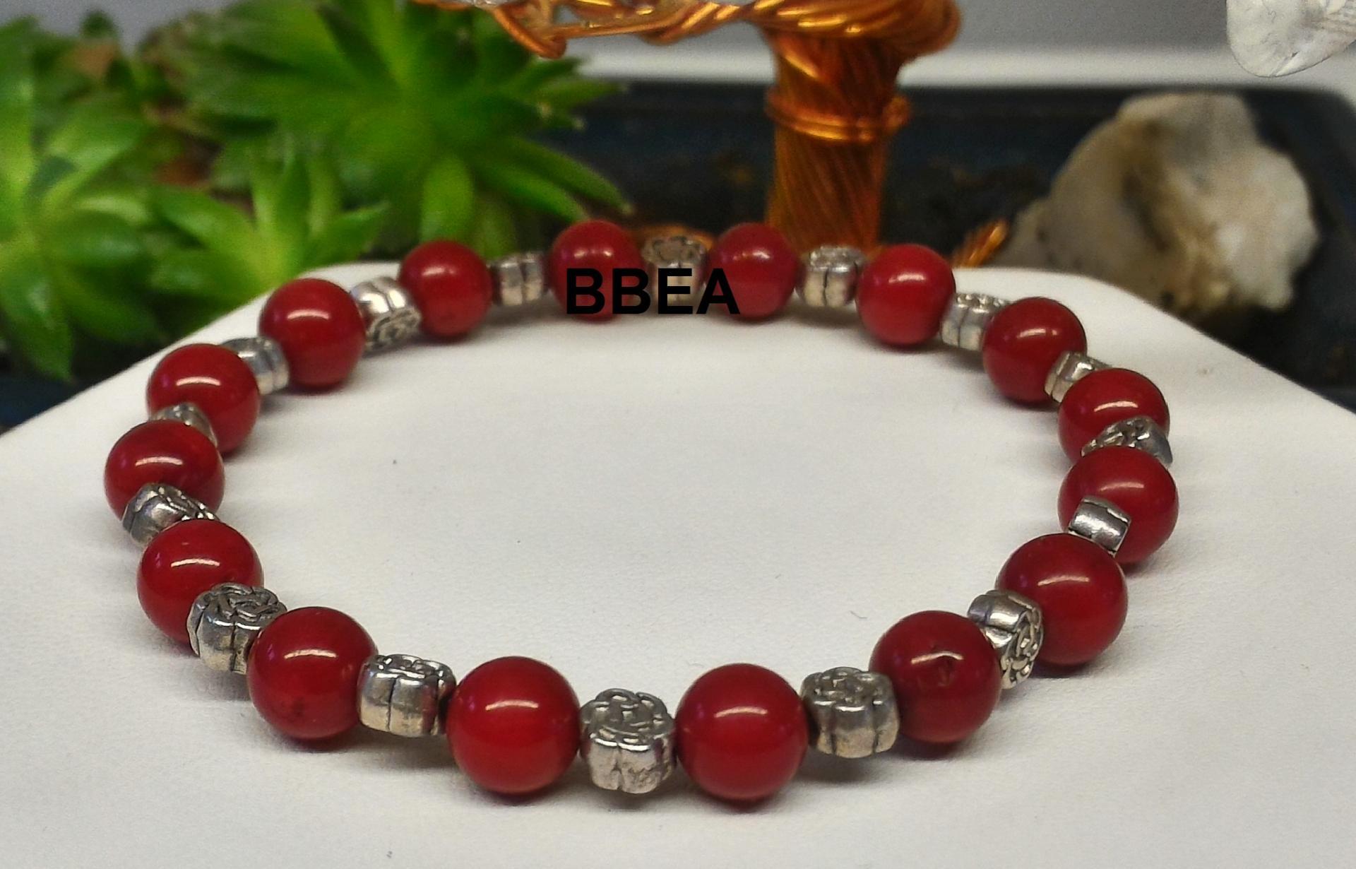 Bracelet corail 1 2