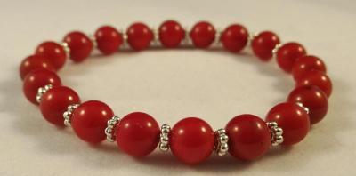 Bracelet corail 1
