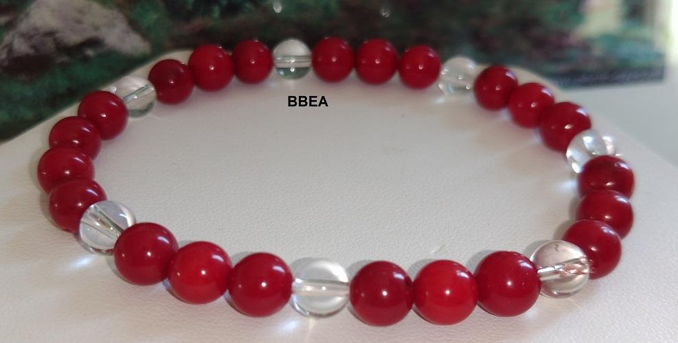 Bracelet corail 8