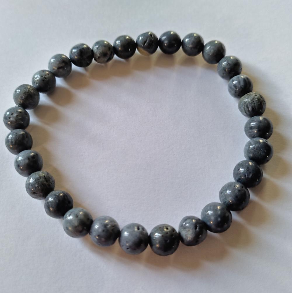 Bracelet corail bleu 1