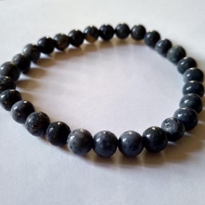 Bracelet corail bleu 2