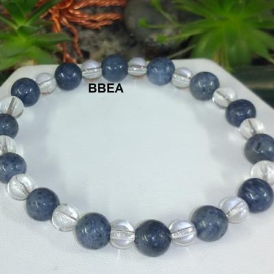 Bracelet corail bleu