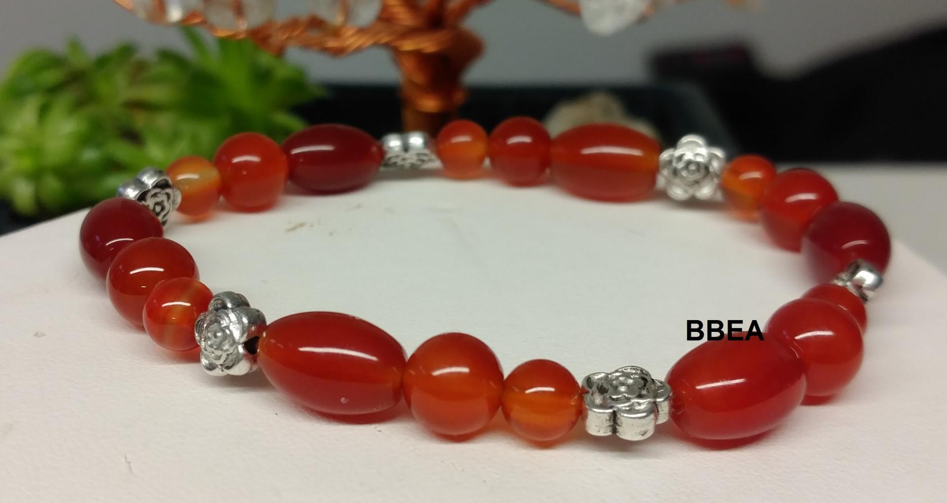Bracelet cornaline 1 2