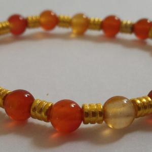 Bracelet cornaline 1