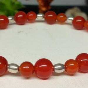 Bracelet cornaline 2 4