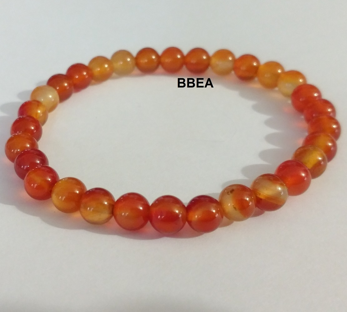 Bracelet cornaline 2 6