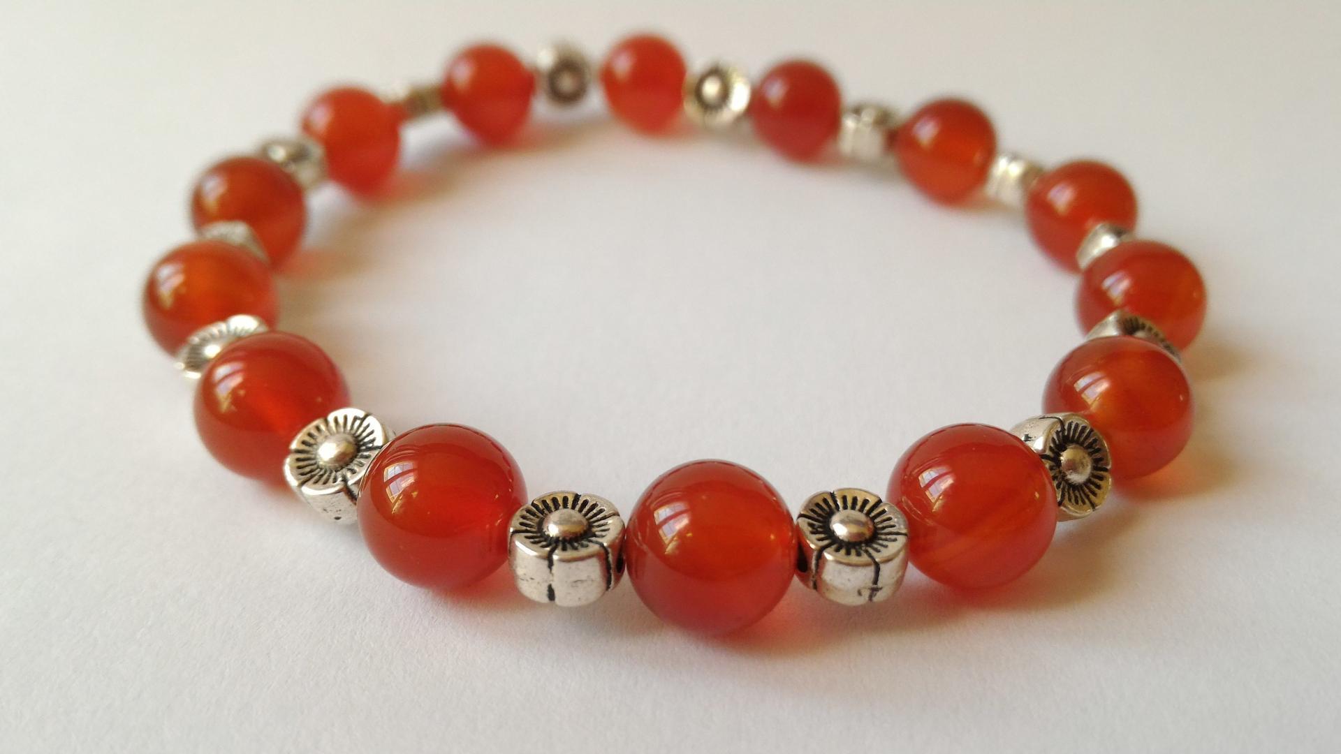 Bracelet cornaline 2