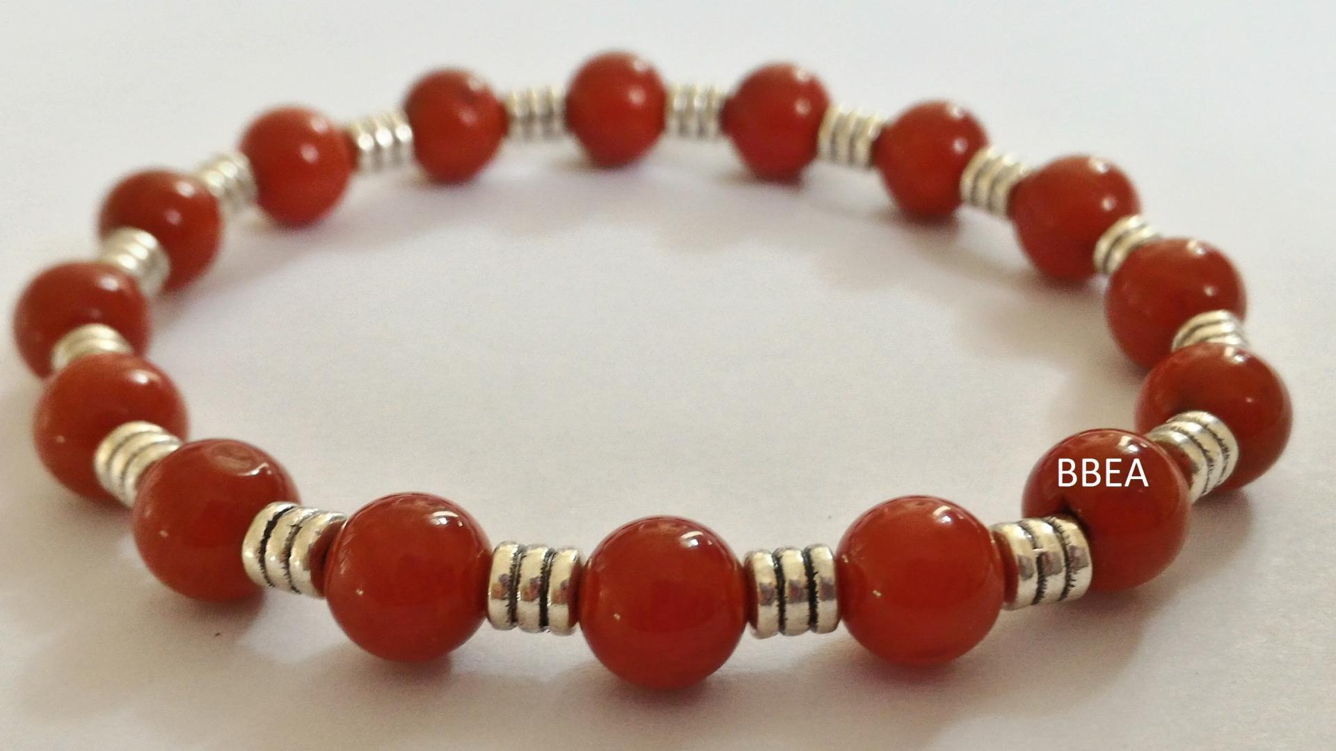 Bracelet cornaline 3 1