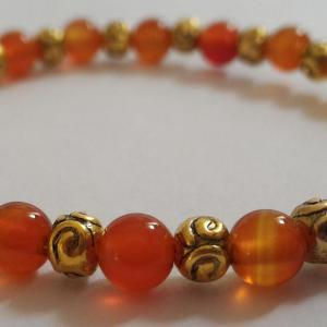Bracelet cornaline 3