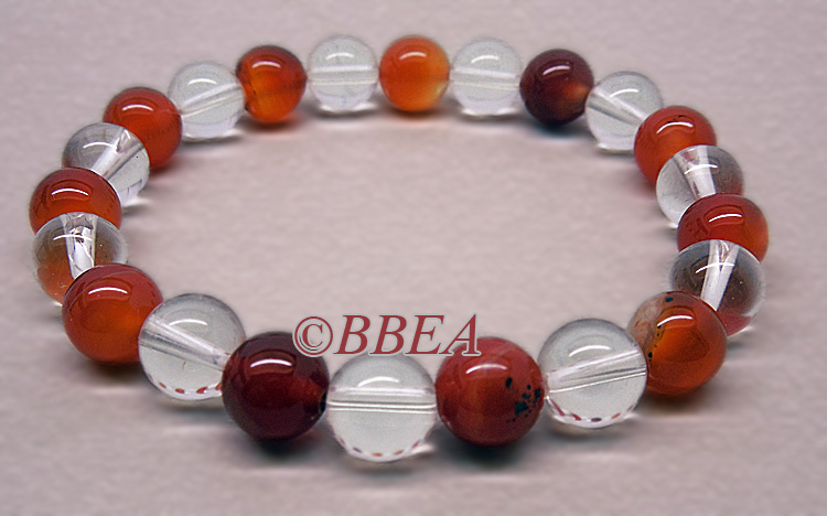 Bracelet cornaline 3646