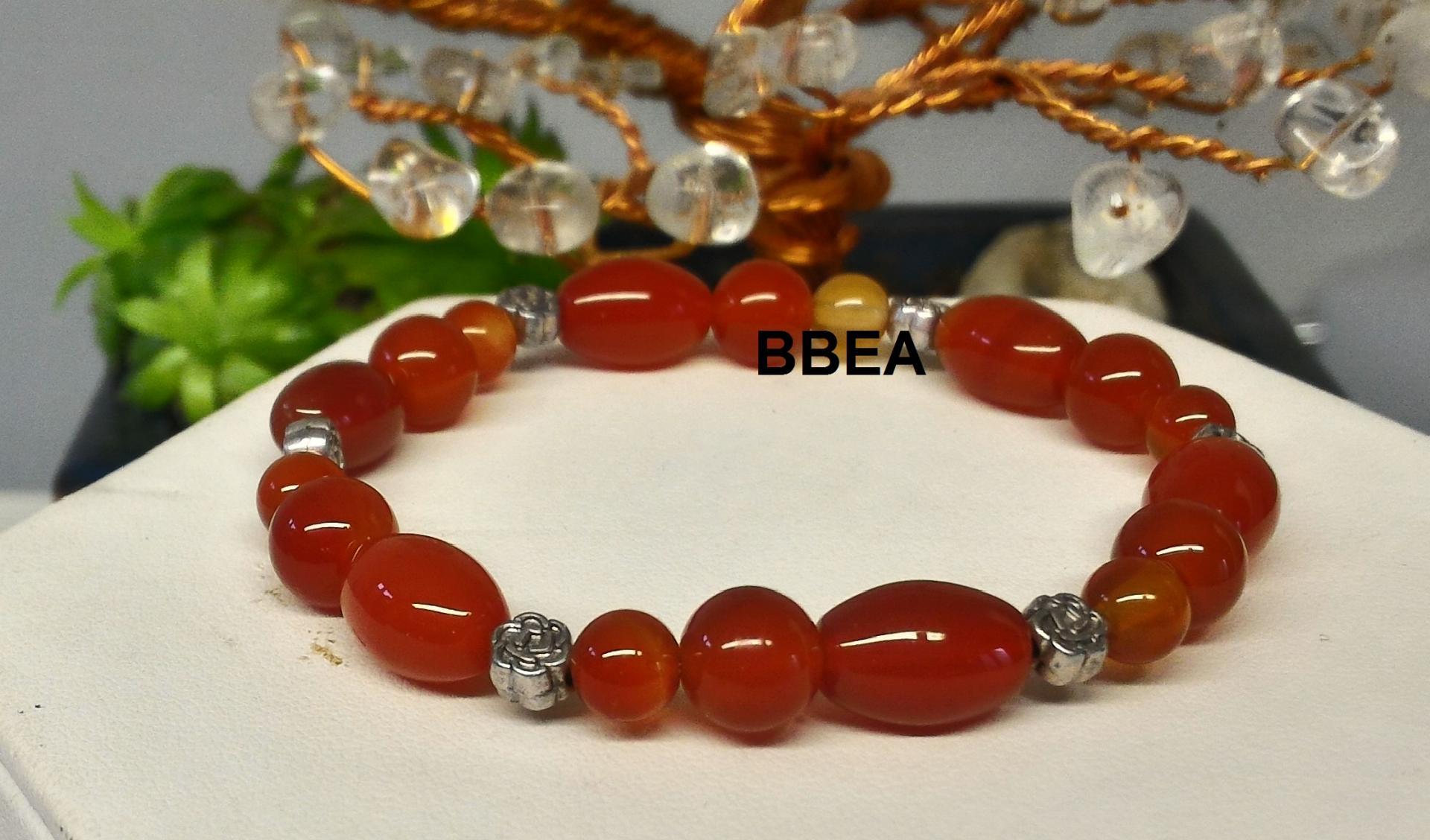 Bracelet cornaline 4