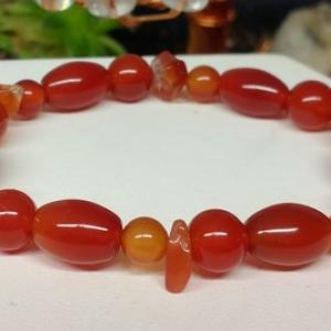 Bracelet cornaline 5