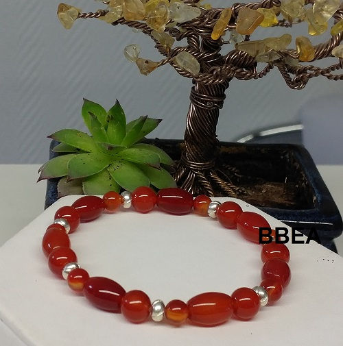 Bracelet cornaline 6