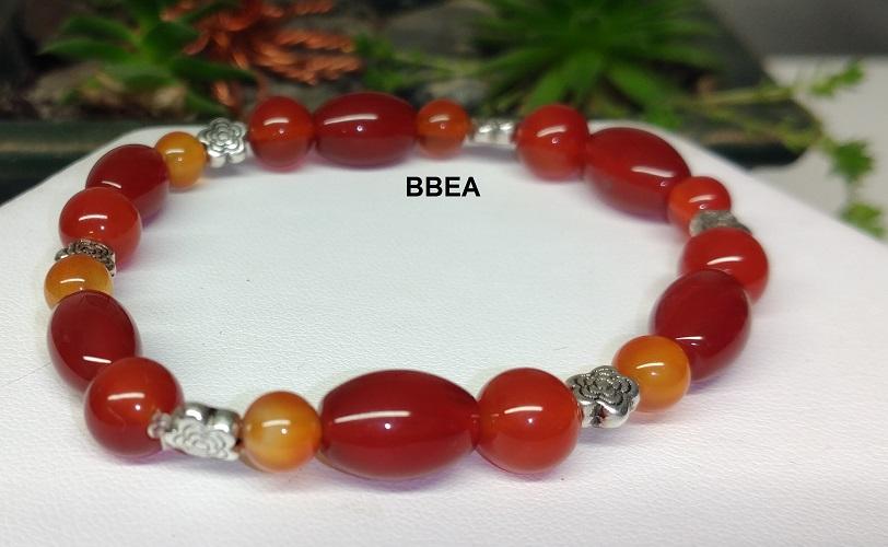 Bracelet cornaline 7