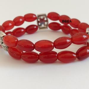 Bracelet cornaline 9