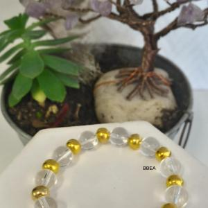 Bracelet cristal de roche 1