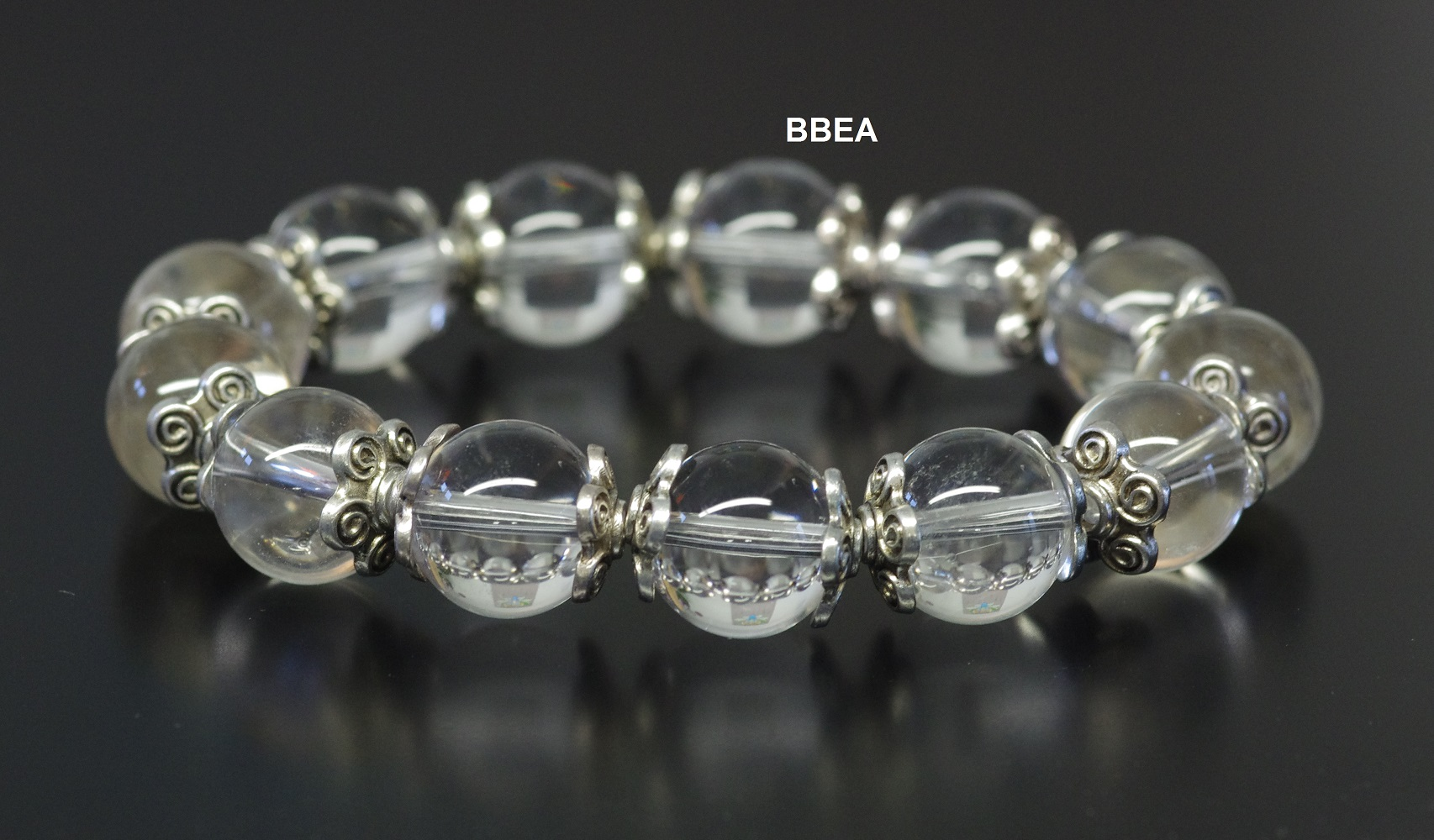 Bracelet cristal de roche 2 1