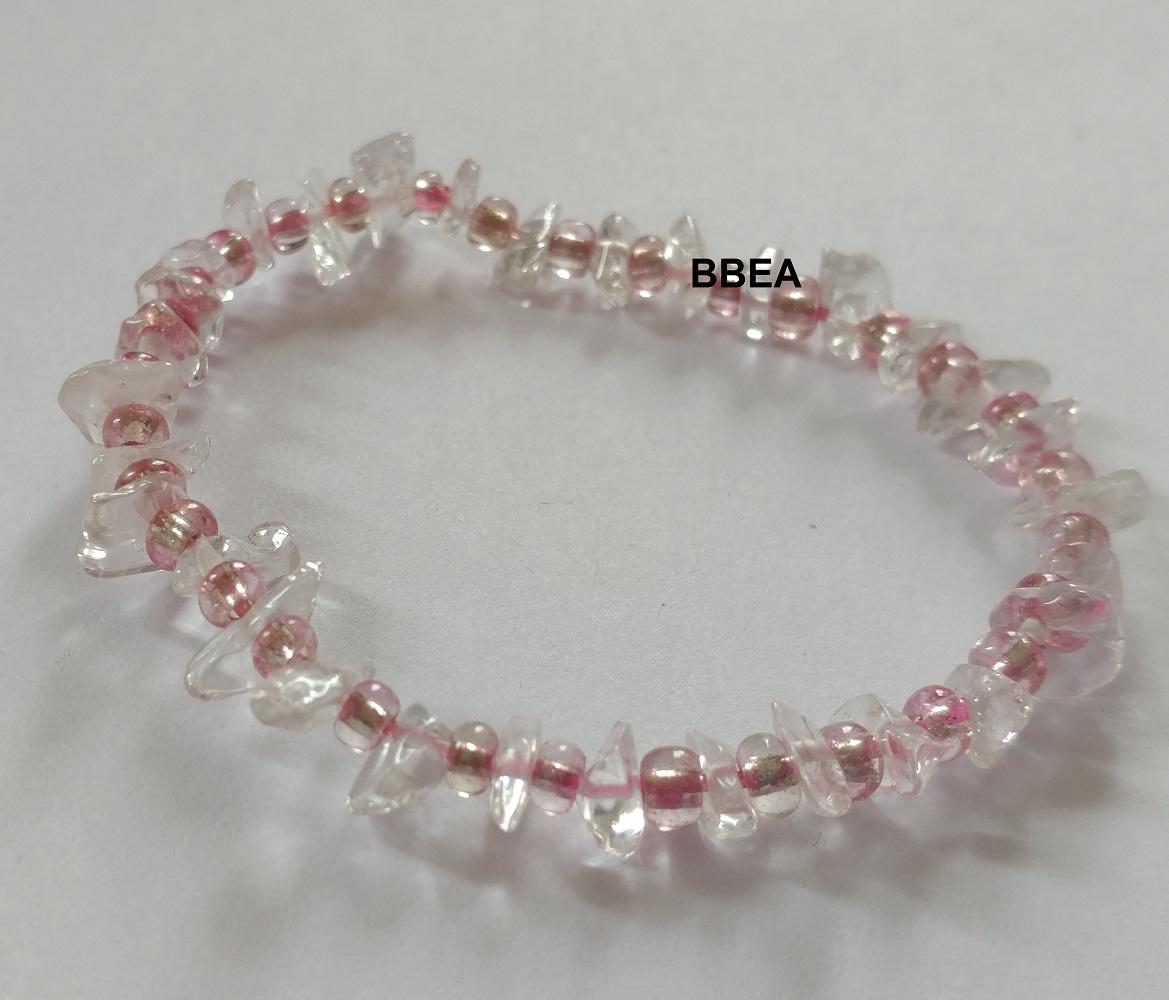 Bracelet cristal de roche 2 2