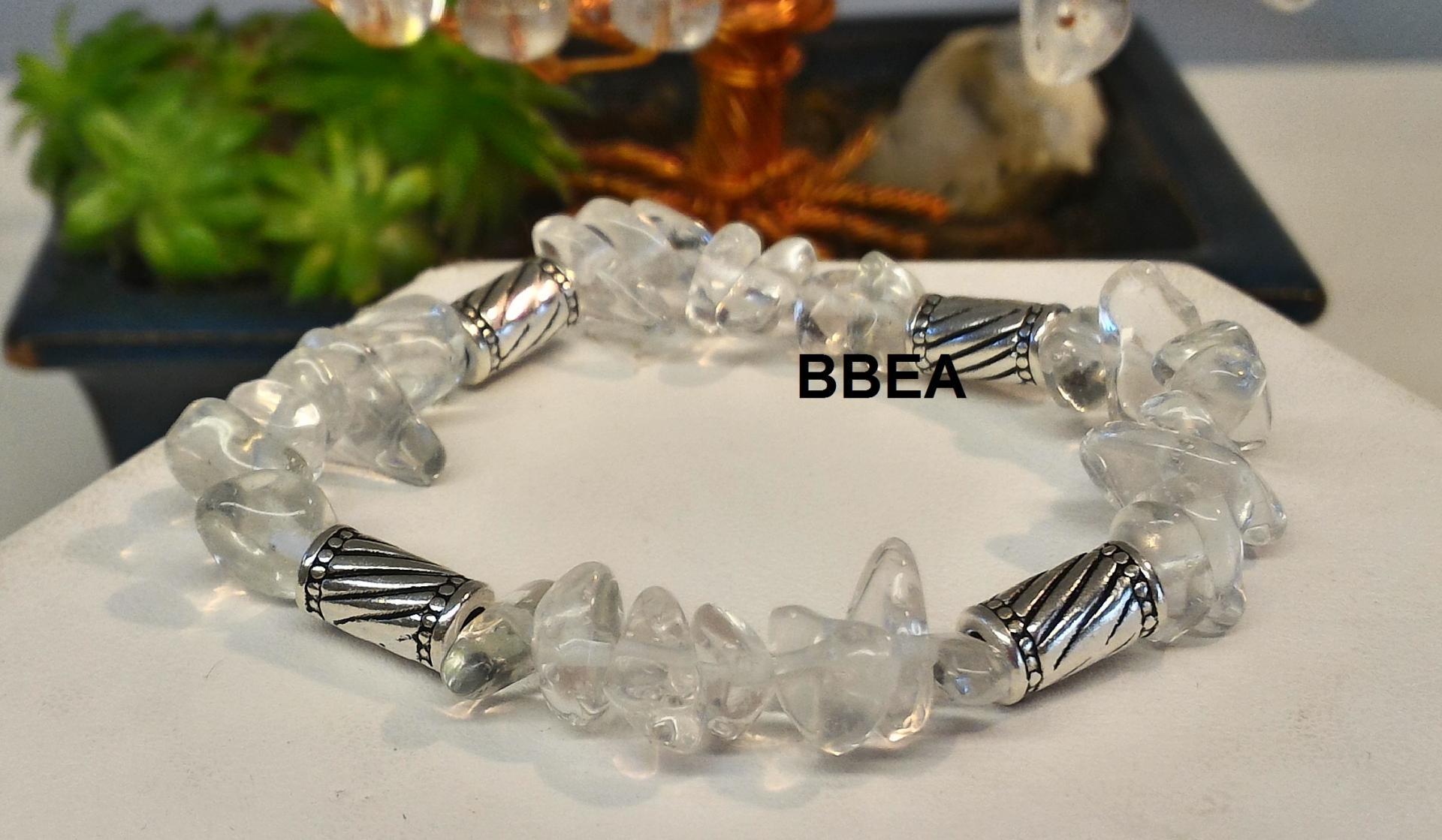 Bracelet cristal de roche 2
