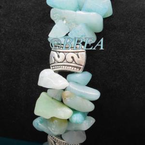 Bracelet double amazonite3229