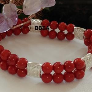 Bracelet double corail