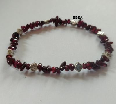 Bracelet grenat 2 2