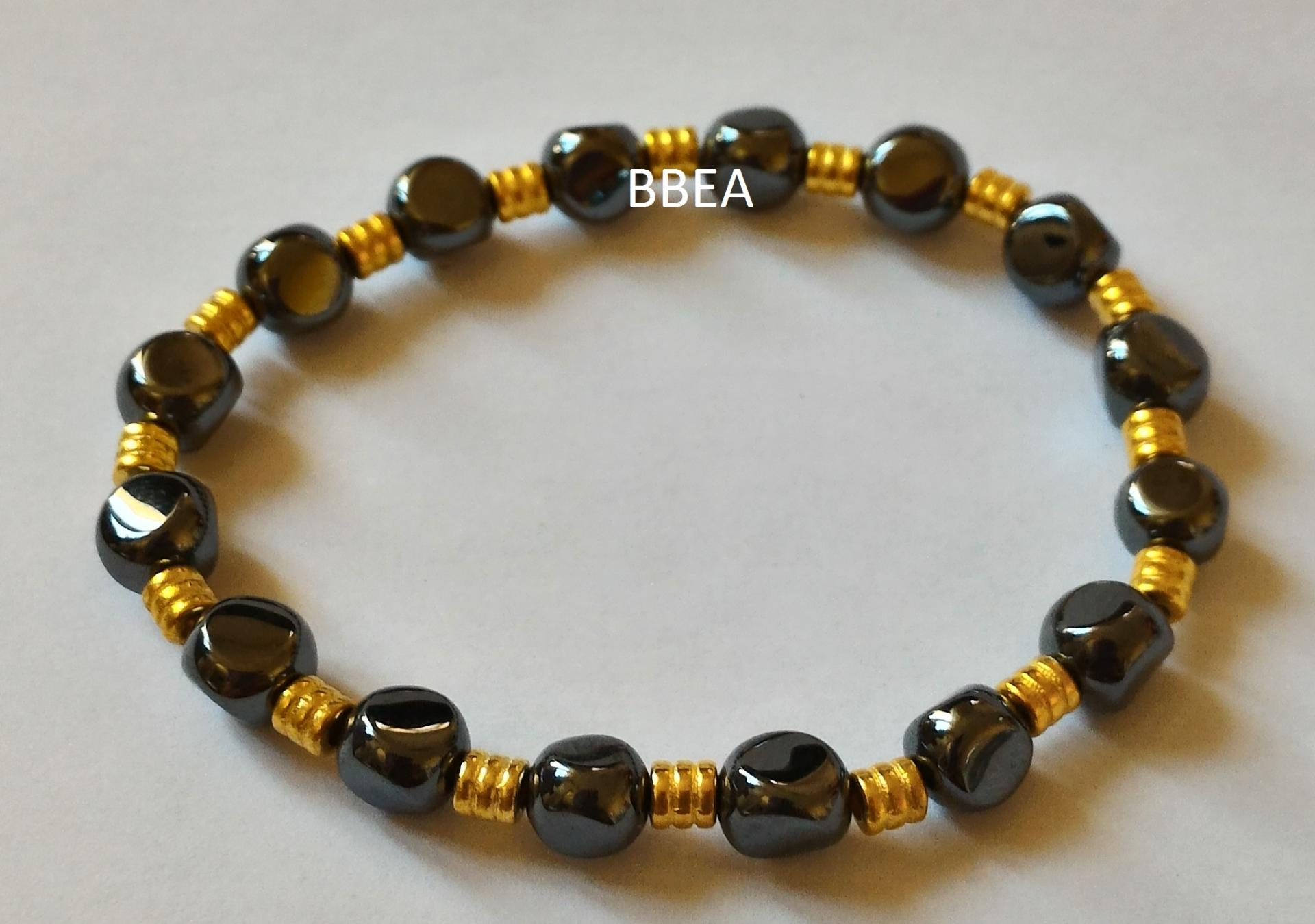 Bracelet hematite 1 1