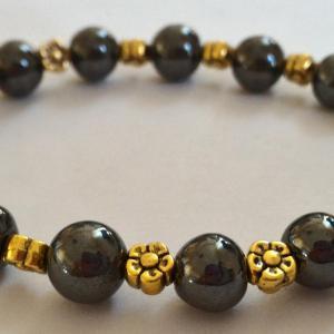 Bracelet hematite 1 2