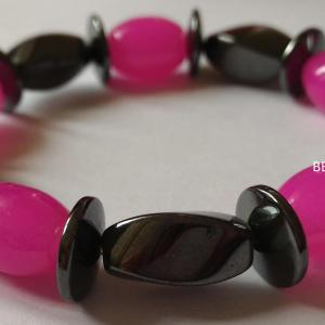 Bracelet hematite 1