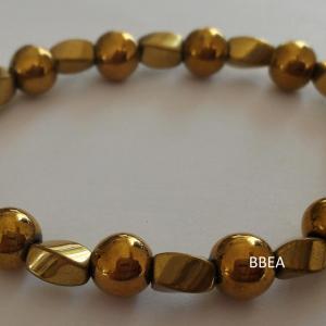 Bracelet hematite 12