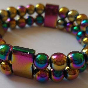 Bracelet hematite 14
