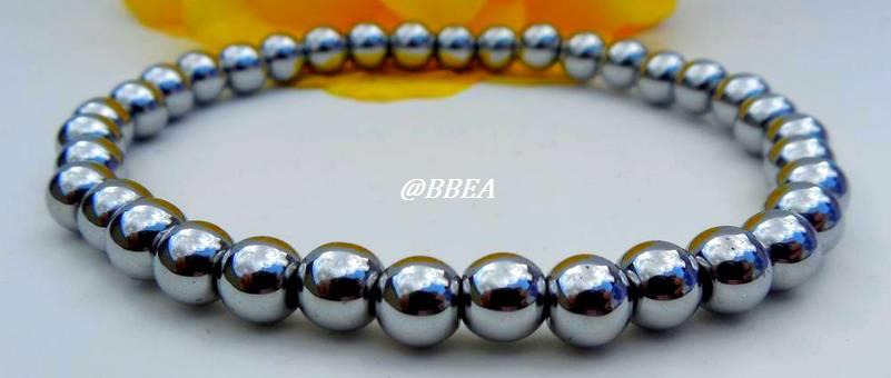 Bracelet hematite 1496