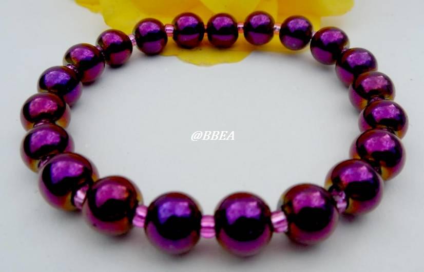 Bracelet hematite 1502